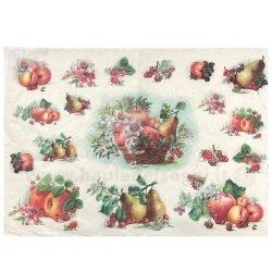 Carta di Riso Frutta