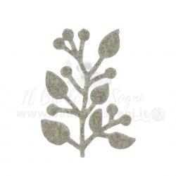 Fustellato Ramo con foglie
