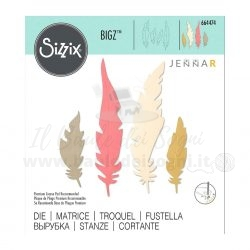 Sizzix Bigz die Natural Feathers